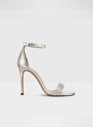 Aldo Prommy-Tr - Gümüş Kadin Yüksek Topuklu Sandalet Gümüş